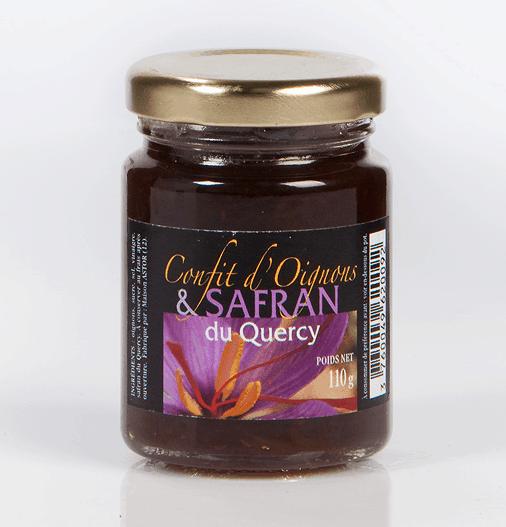 Confit d'oignons au safran du Quercy - 100g