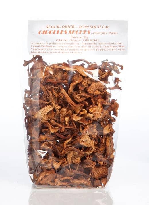 Girolles séchées - 50g