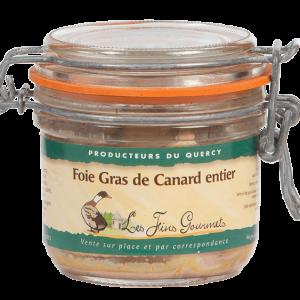 Le foie gras de canard entier des Fins Gourmets, Producteurs du Quercy