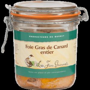 Foie gras de canard entier 650g
