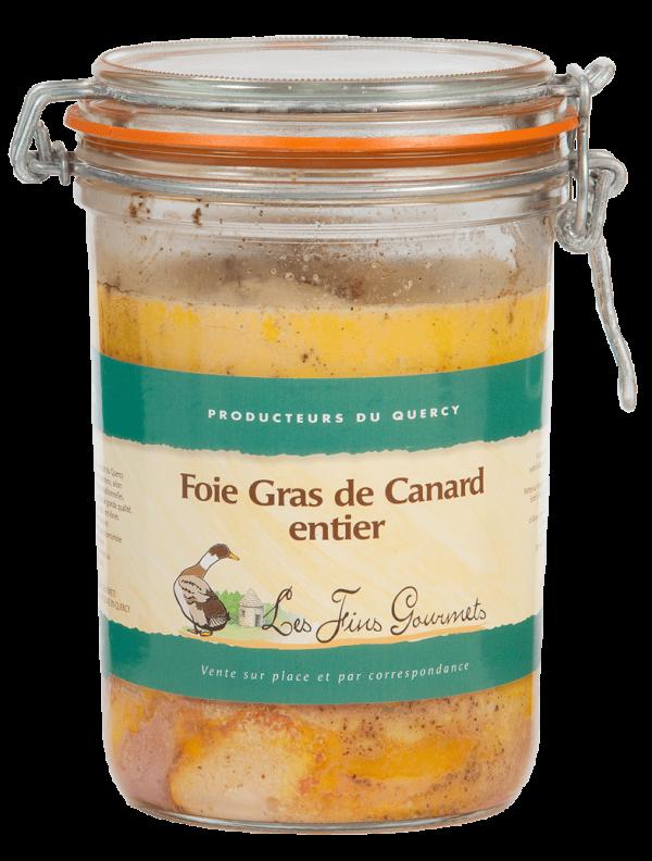 Foie gras de canard entier 900g