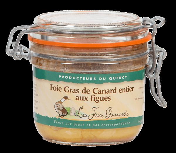 Spécialité de foie gras de canard et de figues - 180g