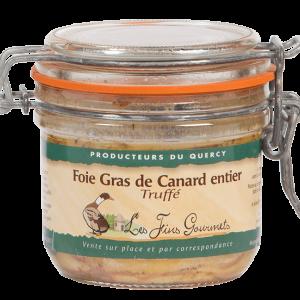 Foie gras de canard entier truffé 180g 3%