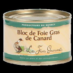 Bloc de foie gras de canard 70g