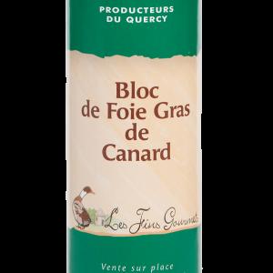 Bloc de foie gras de canard 310g