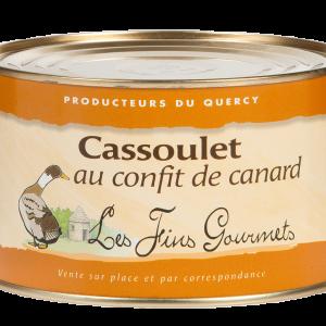 Cassoulet au magret et manchons de canard 1500g