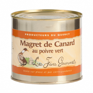 Magret de canard au poivre vert 600g