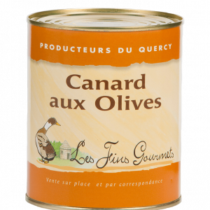 Canard aux olives 800g