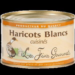 Haricots blancs cuisinés 340g