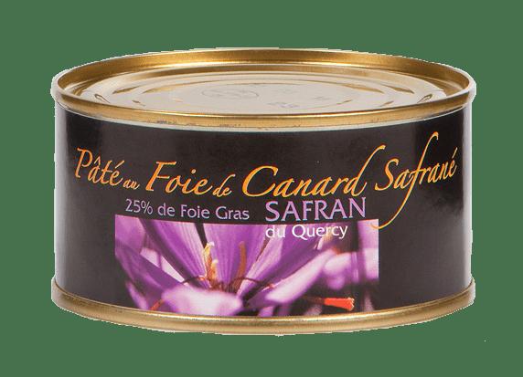 Pâté au safran et au foie de canard - 4 à 5 parts - 200g