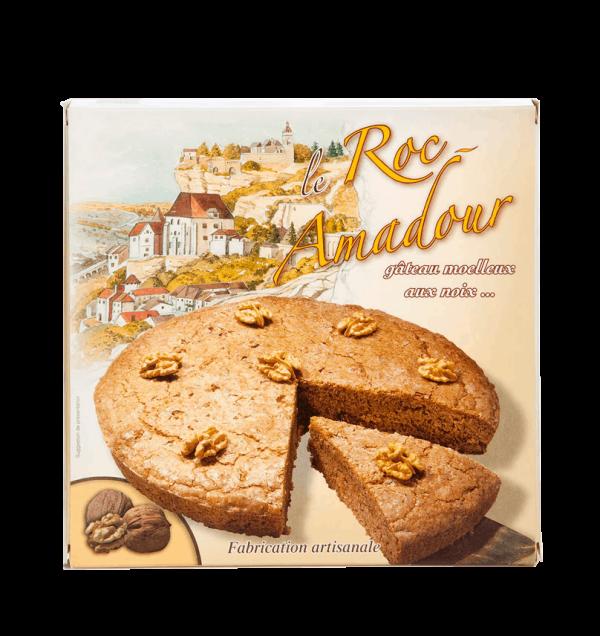 Le Roc'Amadour - gâteau aux noix 220g