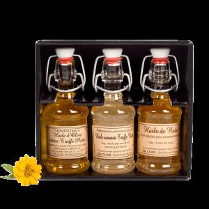 Coffret 3 huiles - 3 x 4cl