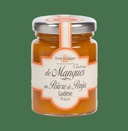 Chutney de mangue au poivre de Penja - 90g