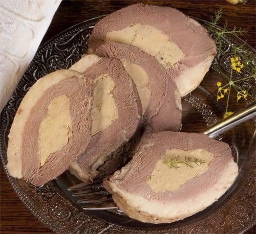Magret de canard fourré au foie gras 350g (25% de foie gras ) - sous vide
