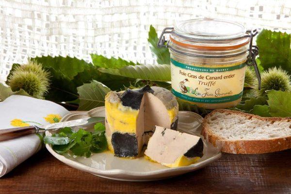 Foie gras de canard entier truffé 300g 3%