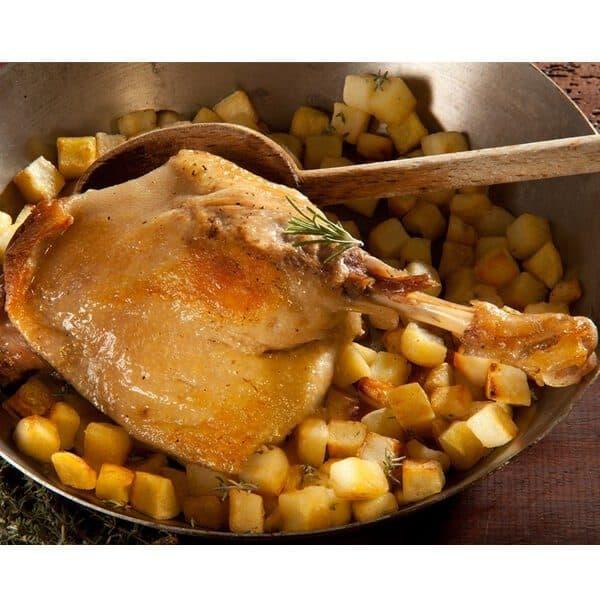 1 cuisse de canard confite sous vide - 200g