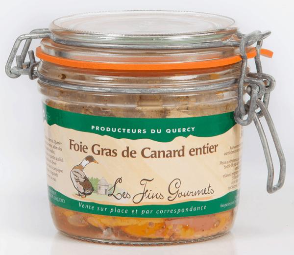 Foie gras de canard entier - 320g