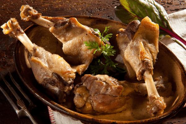 4 manchons de canard confits sous vide (380g)