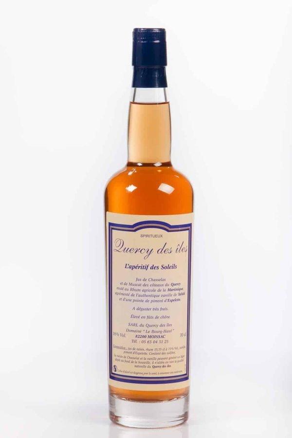 Quercy des îles (chasselat, rhum, vanille, piment d'Espelette) - 70cl