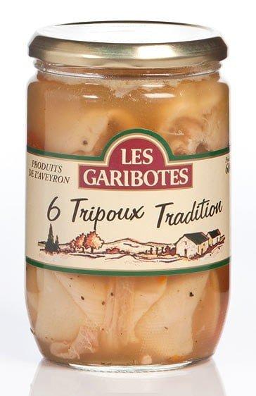 6 Tripoux traditionnels - Les Garibotes - 600g