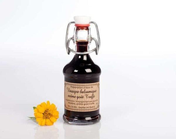 Vinaigre balsamique arôme truffe noire - 4cl