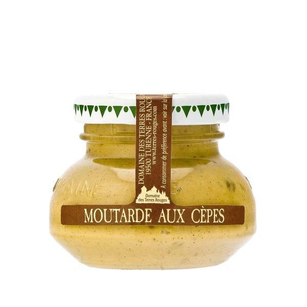 Moutarde aux cèpes - 55g