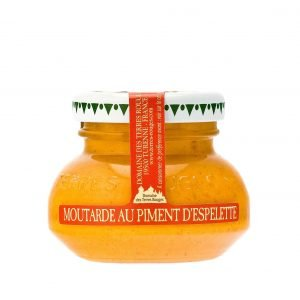 Moutarde au piment d'Espelette - 55g