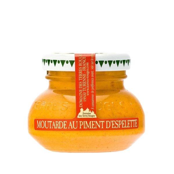 Moutarde au piment d'Espelette - 55g