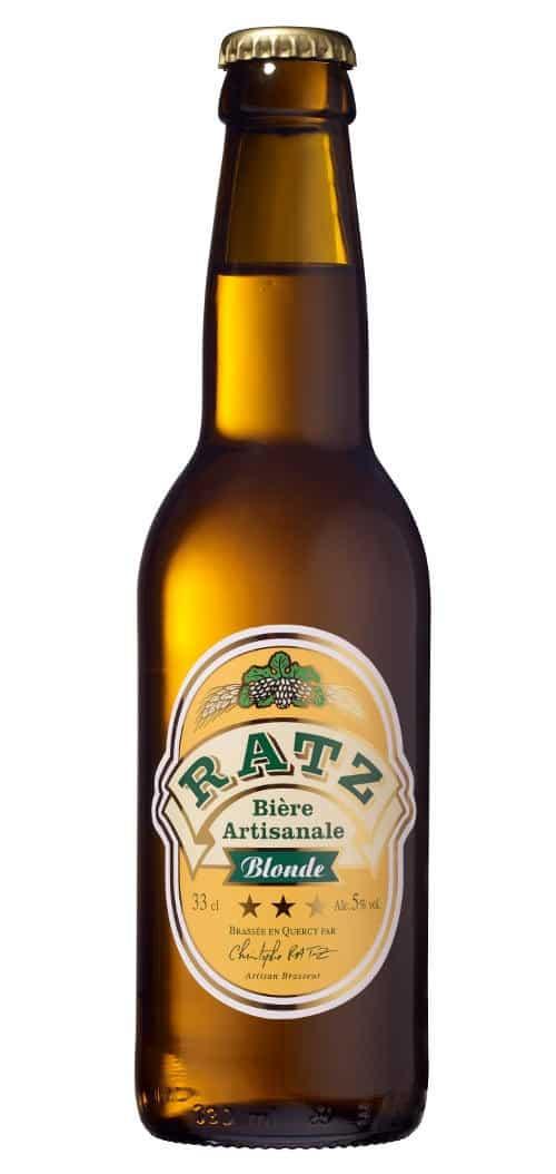 Bière blonde Ratz 33cl
