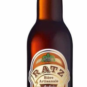 Bière ambrée Ratz 33cl