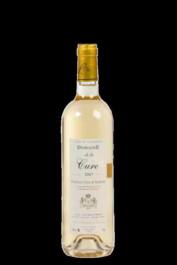 Domaine de la Cure - AOC Premières Côtes de Bordeaux Blanc - 75cl