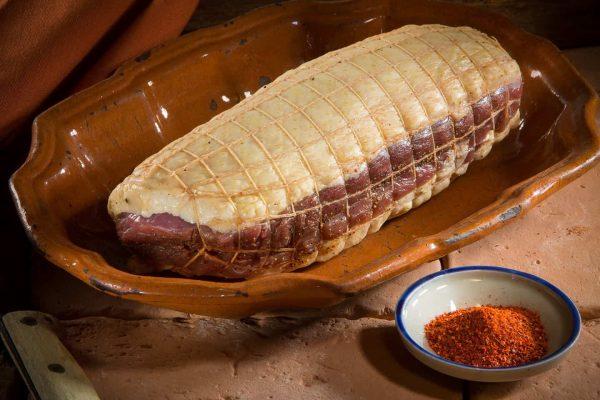 Rôti de magrets au piment d'Espelette 900 à 950 g