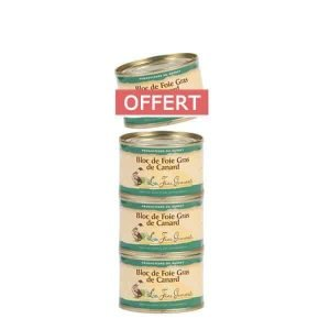 4 blocs de foie gras 70g pour le prix de 3