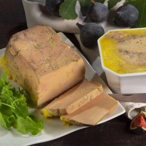 Foie gras mi-cuit en terrine - 240g