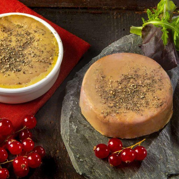 Foie gras mi-cuit en terrine - 60g