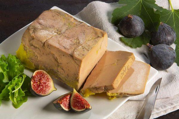 Foie gras mi-cuit en terrine - 500g